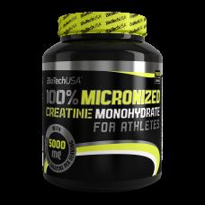 100% Creatine Monohydrate 1000g  банка Biotech USA