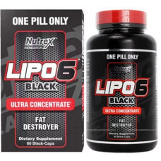 Lipo-6 Black Ultra Concentrate 60 caps от Nutrex