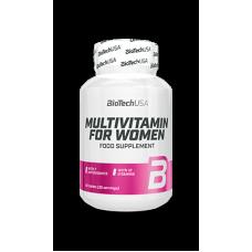 Мультивитамины Multivitamin For Women 60 таблеток от Biotech USA